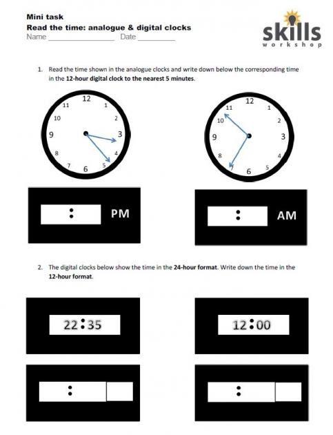 time worksheet: NEW 908 TIME WORKSHEET LEVEL 3