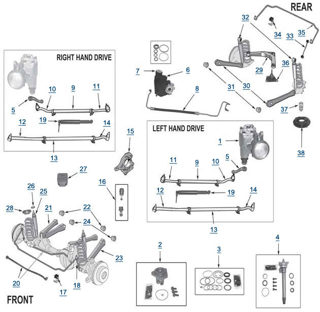 Wiring Diagram: 26 2000 Jeep Cherokee Front Suspension Diagram