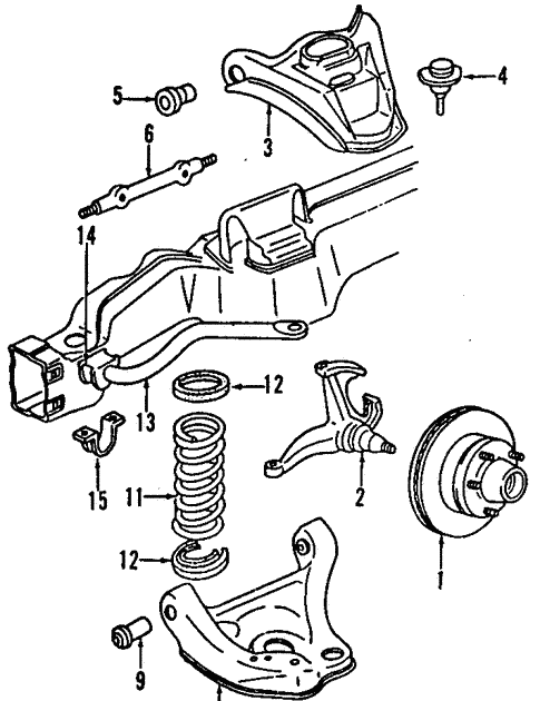 Wiring Diagram: 30 2000 Chevy Blazer Front Suspension Diagram