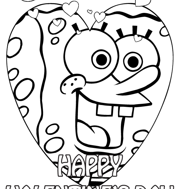 Coloring Sheet Printable Valentines Day Coloring Pages For