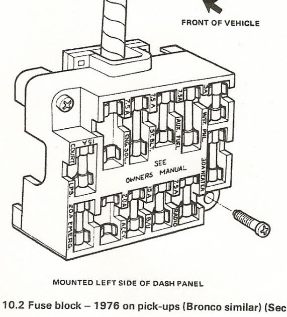 1978 Gmc Fuse Box Diagram : 78 Chevy Truck Wiring Diagram