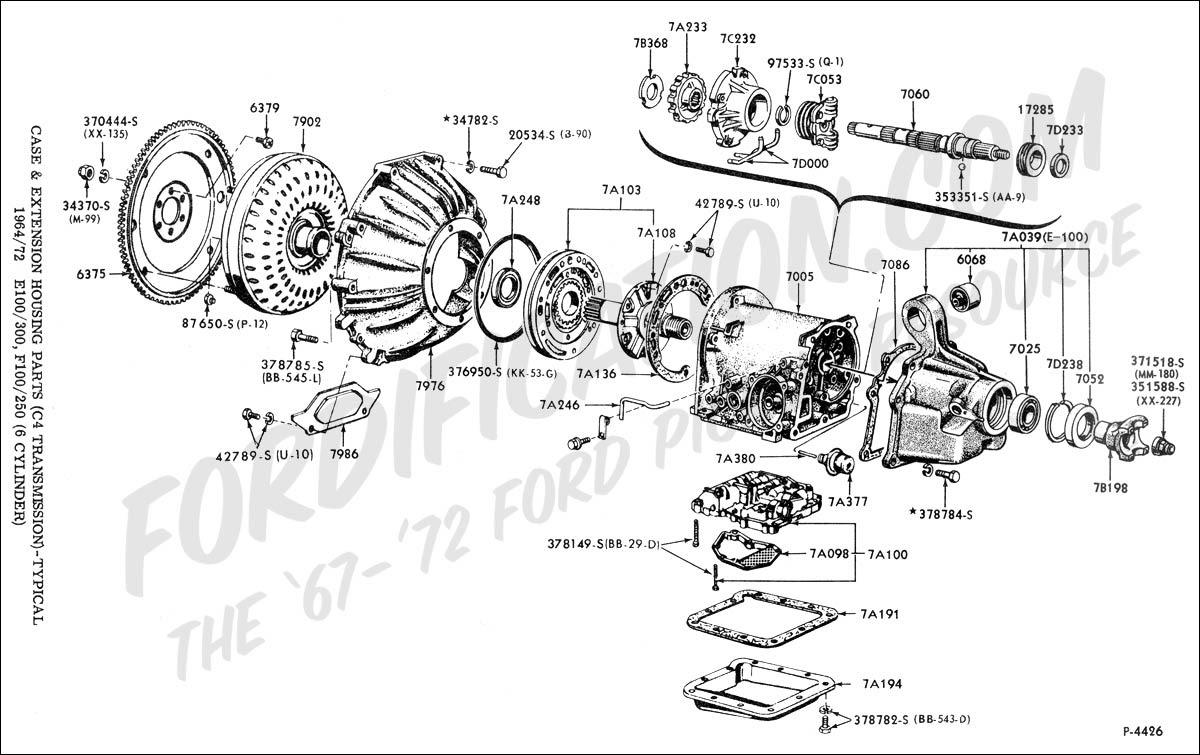 Ford C4 Transmission Diagram