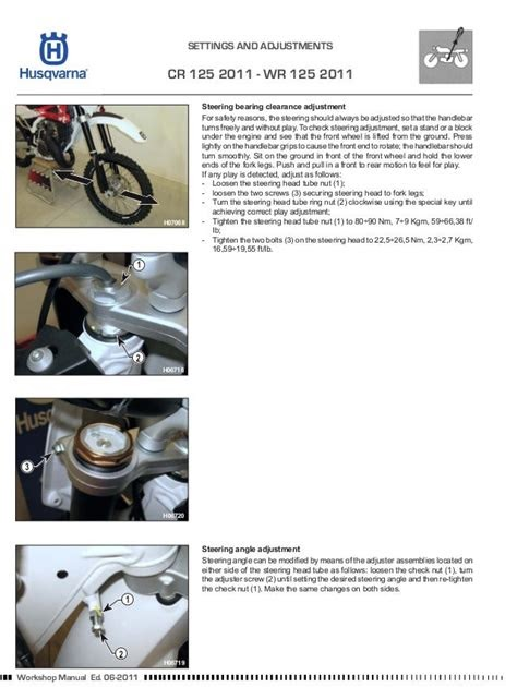 Free Read husqvarna wr 125 cr 125 workshop repair manual