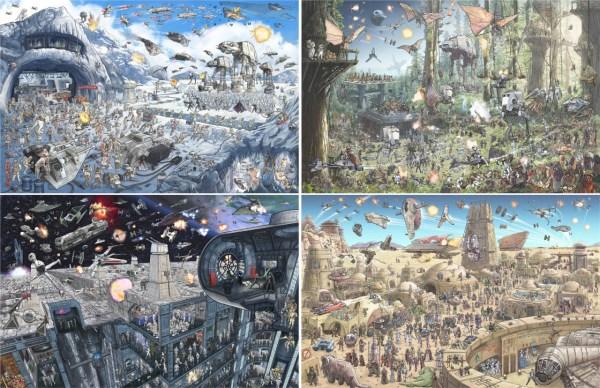 Geek Art Illustration Epic Battles