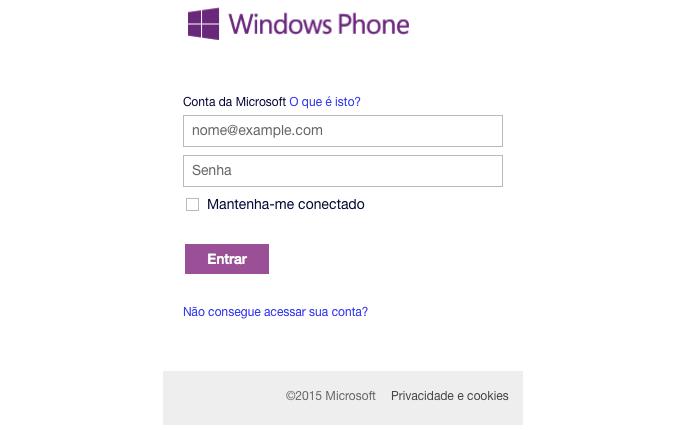 ECM Informática: Windows Phone: como configurar o modo