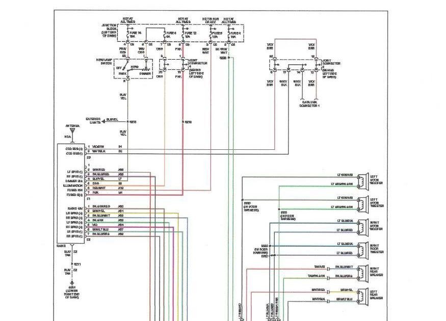 Wiring Diagram: 33 2000 Dodge Dakota Wiring Diagram