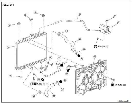 2011 Nissan Altima Radiator ~ Perfect Nissan