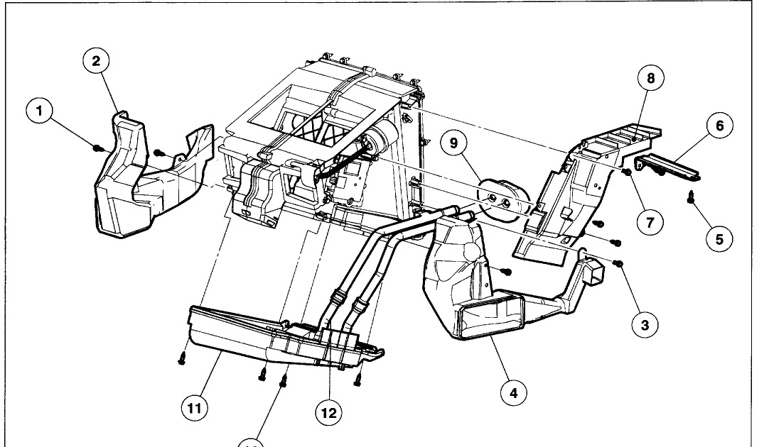 Wiring Diagram: 11 2002 Ford Explorer Coolant Hose Diagram