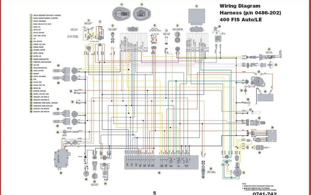1999 Polaris Snowmobile Wiring Diagrams Free 2004 Arctic Cat 400 Wiring Diagram Atvconnection Com