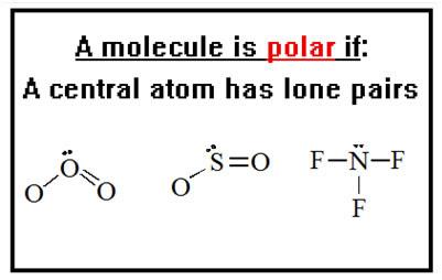 32 Which Electron Dot Diagram Represents A Polar Molecule