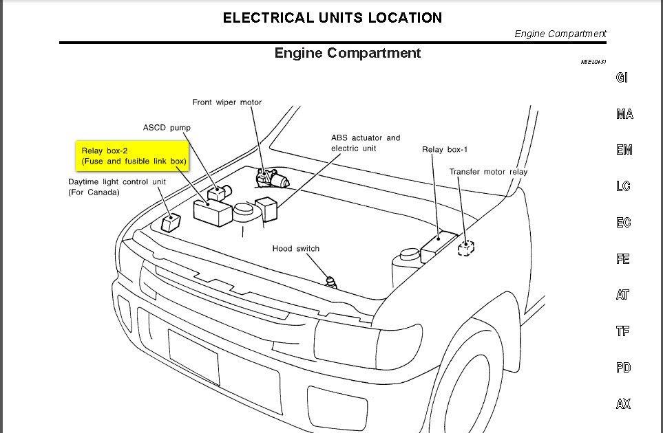 Repair Manual 2002 Infiniti Qx4