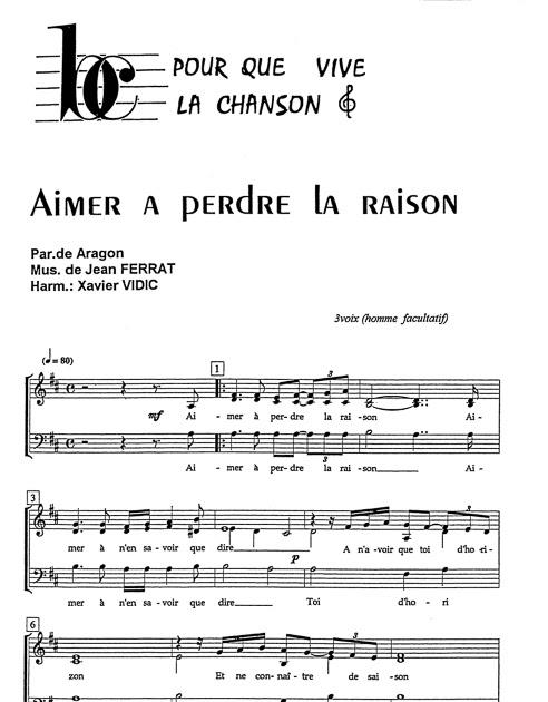 Parole Aimer à Perdre La Raison : parole, aimer, perdre, raison, Lyrics, Quotes:, Chanson, Aimer, Perdre, Raison, Paroles