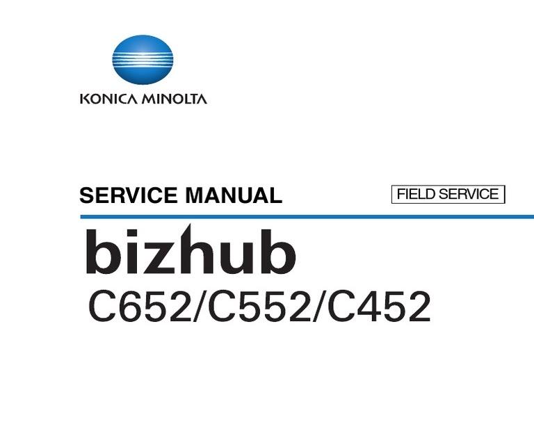 Bizub C452 D : Konica Minolta Bizhub C452, Multifunction