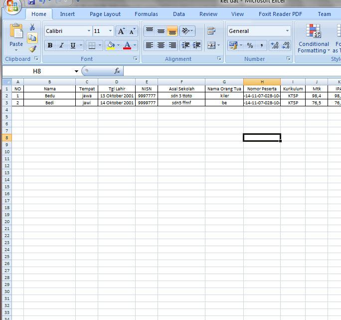 [.xlsx file] APLIKASI SURAT KELULUSAN SISWA DENGAN MAIL MERGE SISTEM [Excel dan Word]