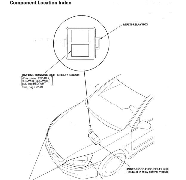 Wiring Diagram For Drl Relay