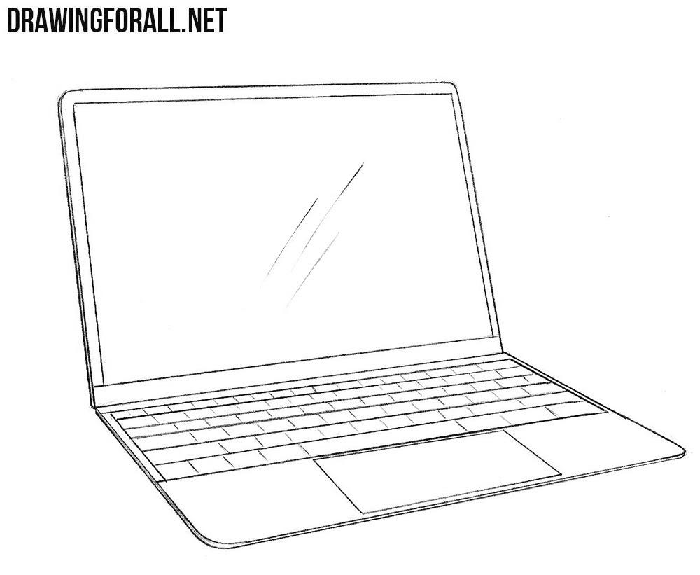 Macbook Drawing Laptop