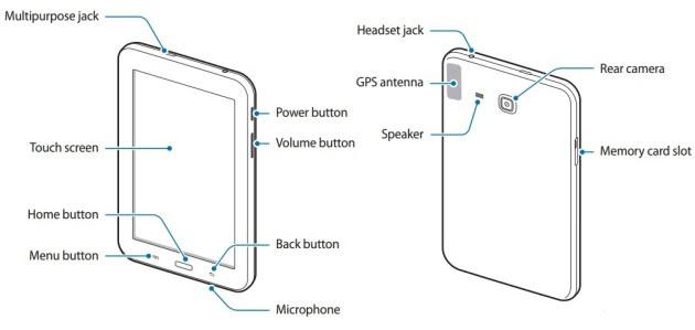 Samsung Galaxy Tab 3 Lite confirmó gracias al manual de