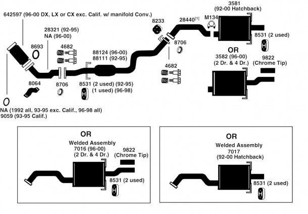 [DIAGRAM] 1998 Hyundai Sonata Exhaust Diagram
