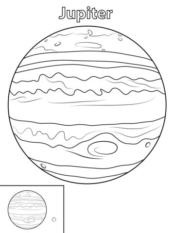 Planeten Zum Ausdrucken - Ausmalbilder und Vorlagen