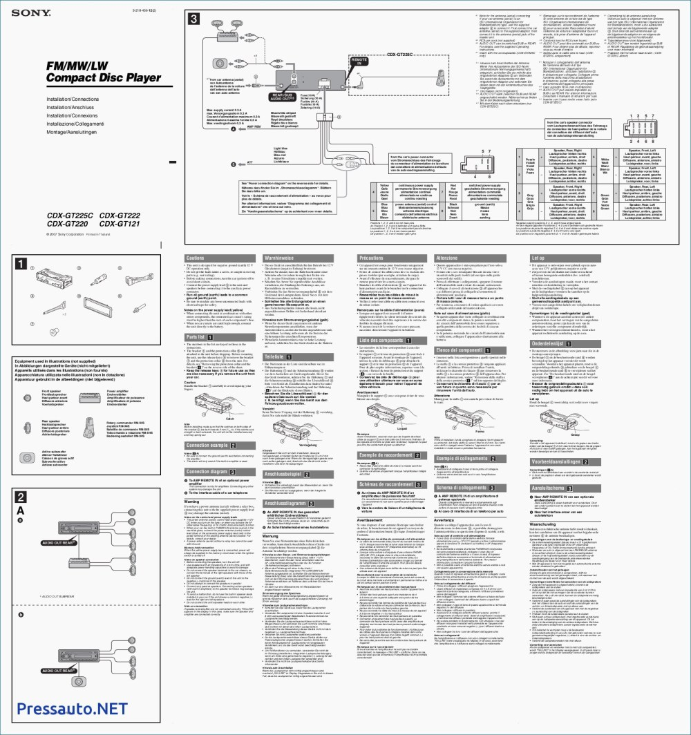 medium resolution of sony cdx gt270 wiring guide