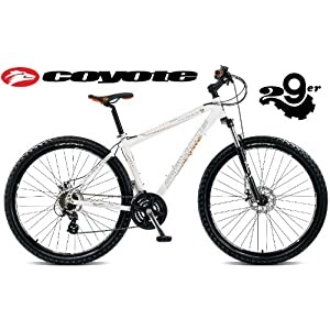 Sales & Deals Coyote Freeway 29er Mens Dual Disc Hardtail