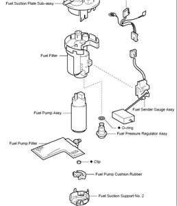 Toyota Corolla Fuel Pump Relay Location
