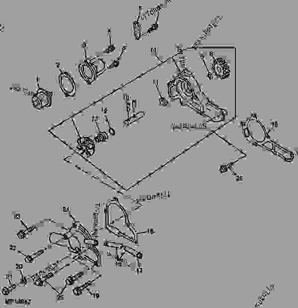John Deere Gator 6X4 Engine Diagram / Wiring Diagram: 29