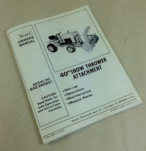 Download AudioBook sears snow thrower attachment manual