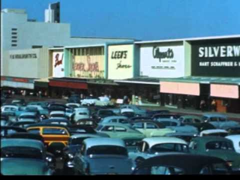 Pleasant Family Shopping Shopping in Los Angeles  The 1950s