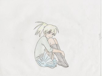 anime sitting poses kidskunst position