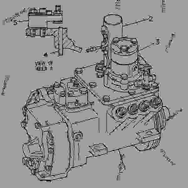 Cat 3208 Fuel System