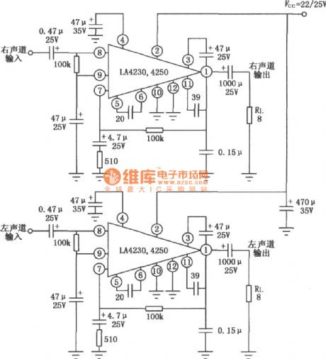 D Rudiant: Pioneer Power Amplifier Circuit Diagram