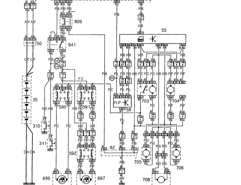 Wiring Diagram For Citroen Zx