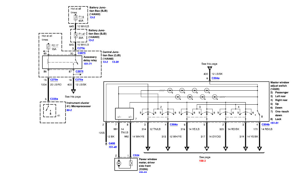 Ford F 150 30a Circuit Breaker
