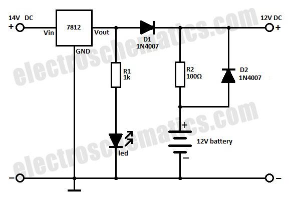 Solar 12v Battery Charger Circuit Diagram HP PHOTOSMART