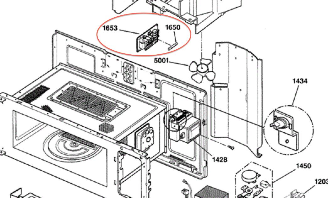 Ge Profile Advantium 120 Microwave Parts