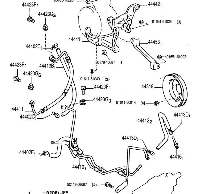 1998 Toyota 4 Runner Parts Diagram