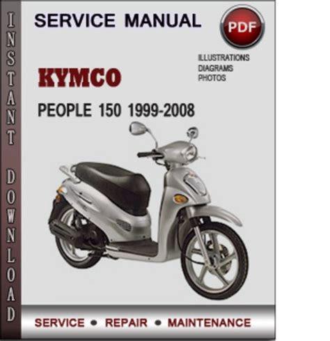 Read kymco people 150 1999 2008 factory service repair