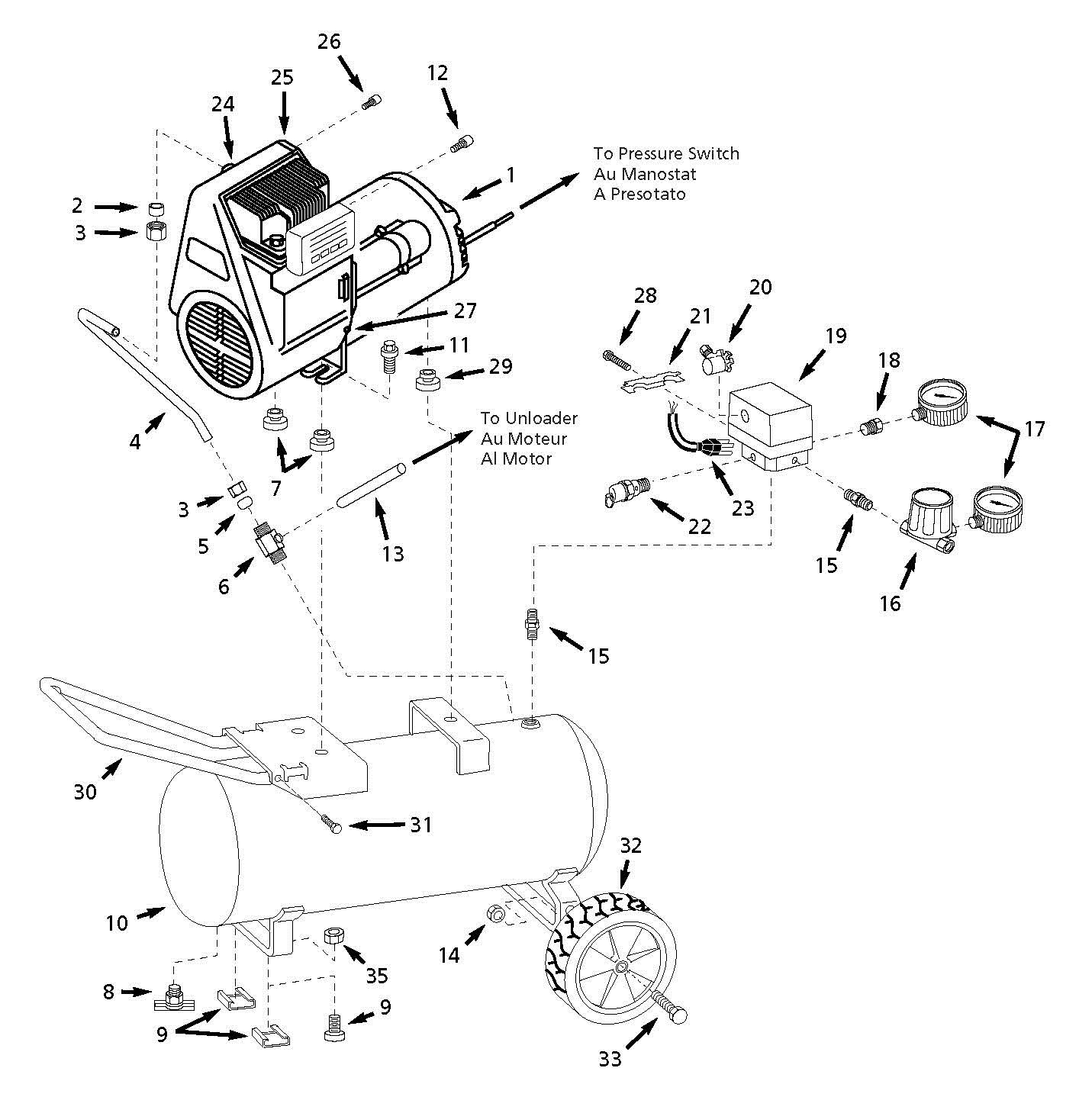 25 Campbell Hausfeld Air Compressor Wiring Diagram