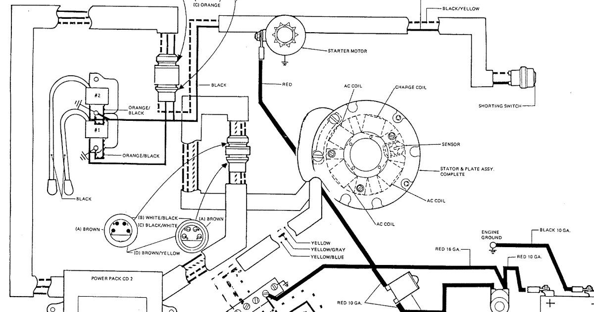 1989 Evinrude Wiring Diagram
