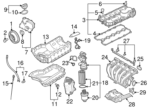 Wiring Diagram: 30 2007 Vw Rabbit Parts Diagram
