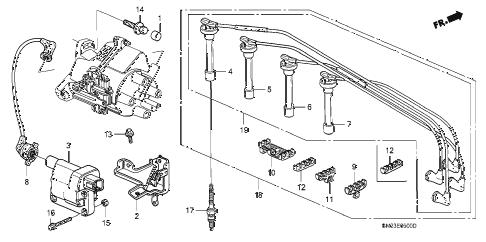 1993 Honda Accord Ignition Wiring Diagram : Repair