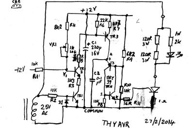 Wiring Diagram Avr Generator