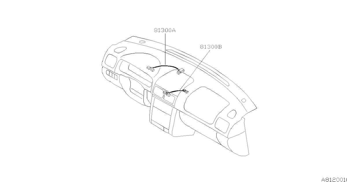 Wiring Harnes Subaru Forester / Subaru Forester Car Radio