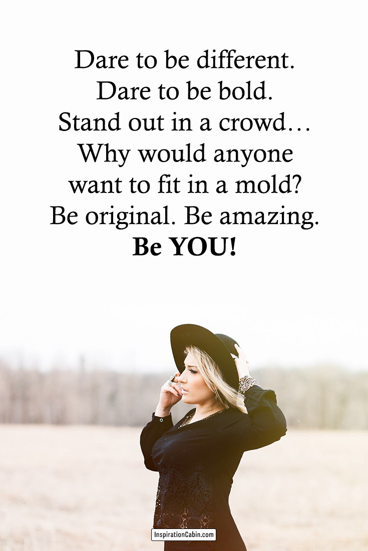 Dare To Be Different Quotes : different, quotes, Different, Quotes