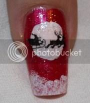 nail design tutorials 2012 christmas.santa