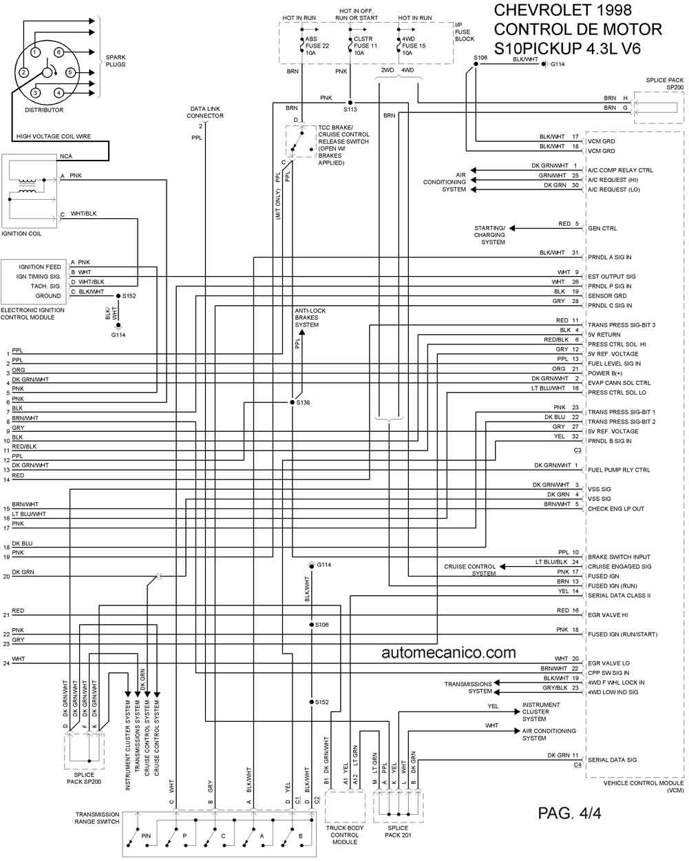 21 New Chevy S10 Radio Wiring Diagram