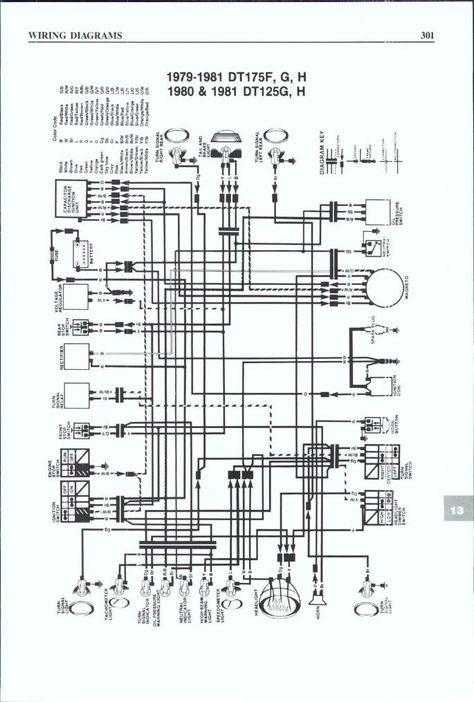 Schaltplan Yamaha Dt 125 Re