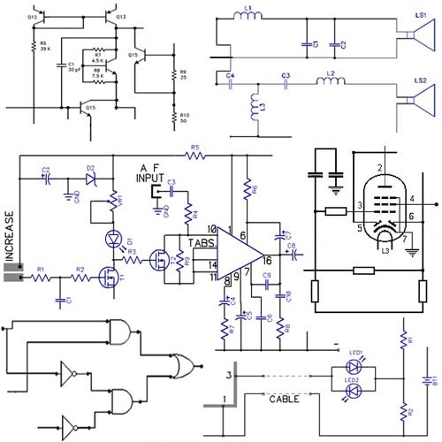 Hobby Electronics Circuits: Electronic Circuits Diagrams