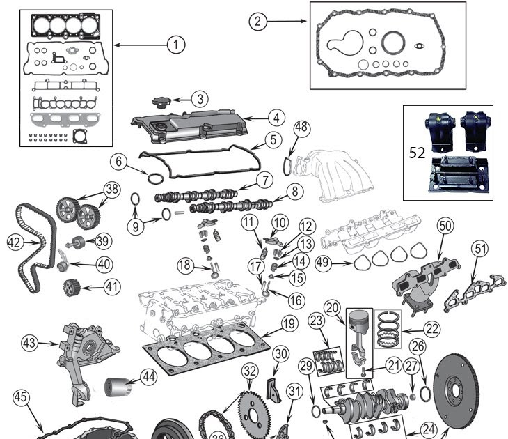 2002 Jeep Engine Diagram